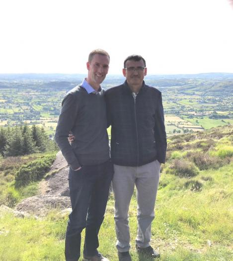 Mr Bista and Mr Conroy were able to join all the other teachers present and take in the sights of Slieve Gullion over the weekend. Thanks to their Mullaghbawn hosts for arranging this.