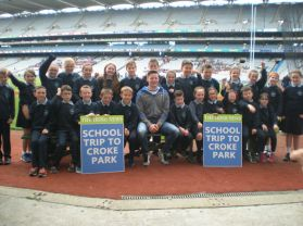 Irish News Croke Park Trip