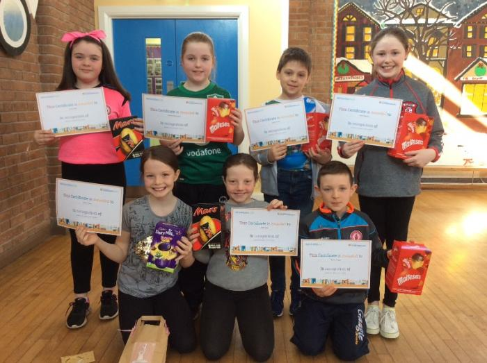 Congratulations to the P6 award winners who also achieved their reading targets.